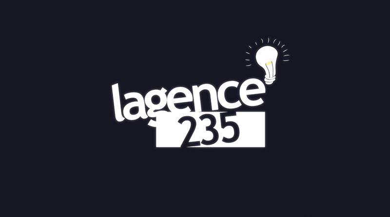 Animation de logo - lagence235