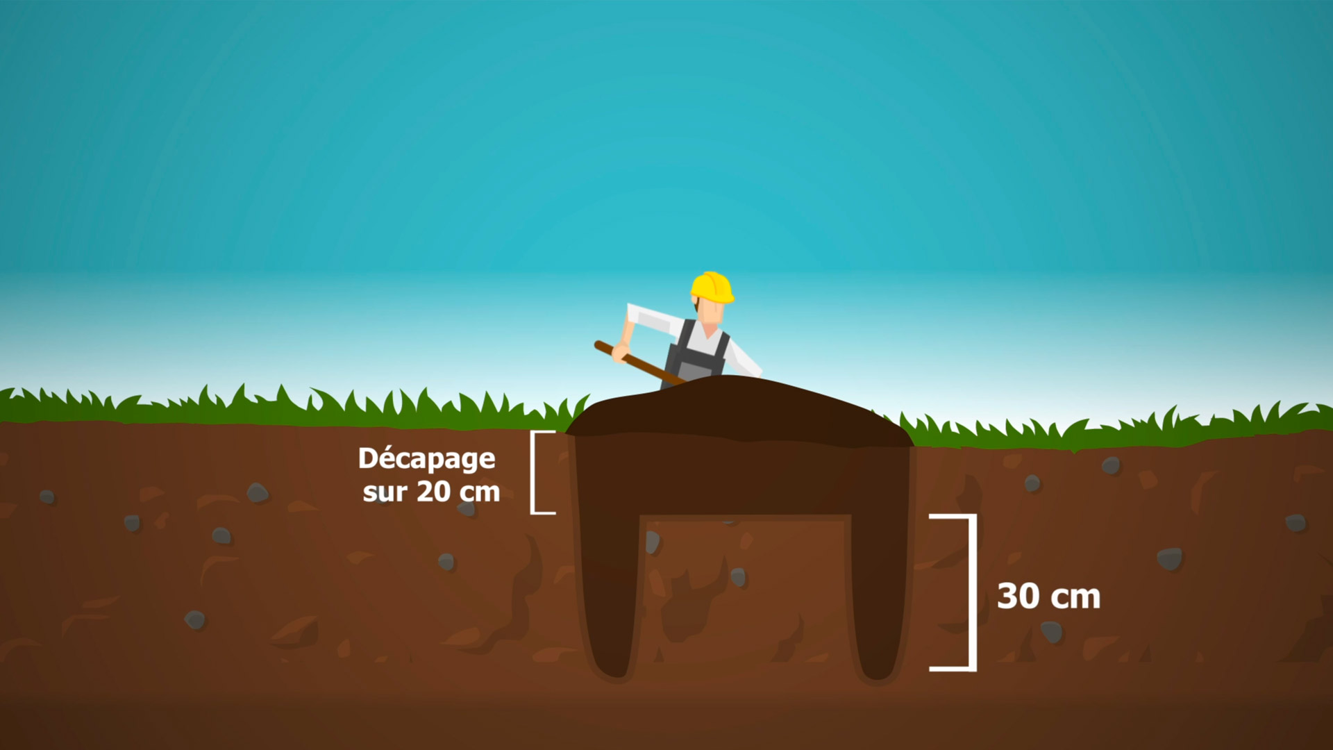 Storengy - vidéo explicative - animation 2D BTP