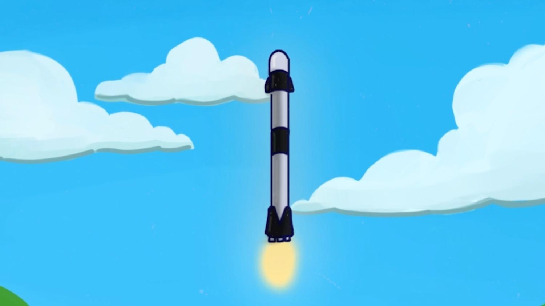 Bon voyage Thomas Pesquet dans la Crew Dragon de Space X ! - Dessin animé