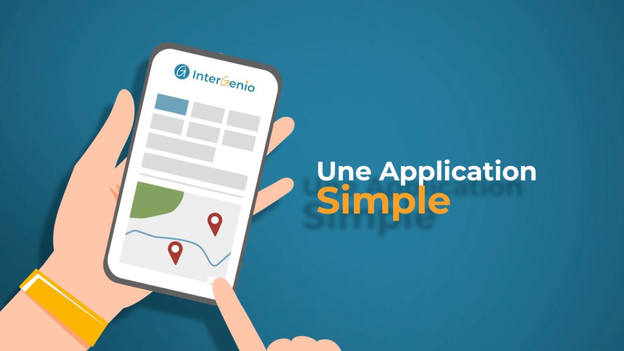 Vidéo de présentation - application InterGenio