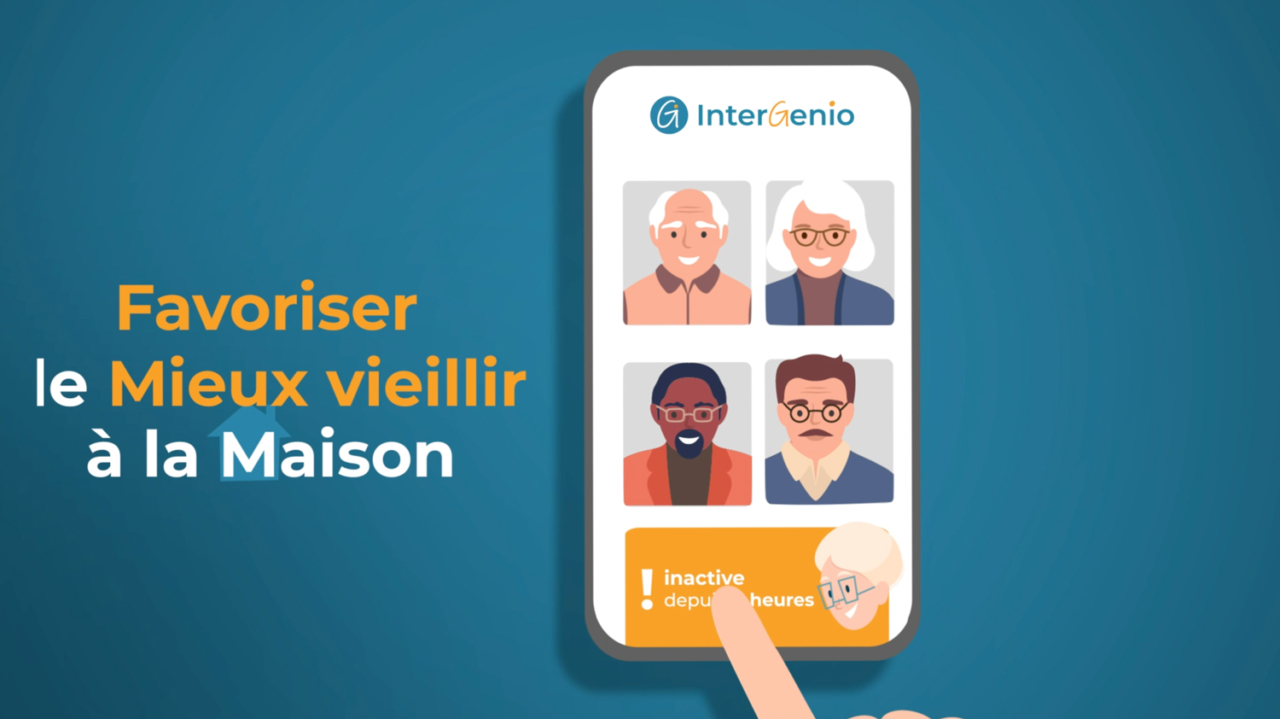 Vidéo de présentation - Start-up InterGenio (Metz)